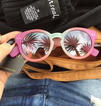 sunglasses sun glasses pink beach