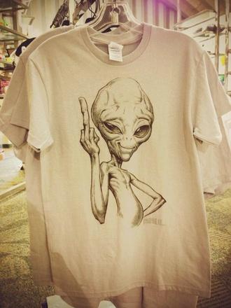 shirt paul alien movie t-shirt fuck off unisex