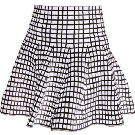 Reversible Grid Skirt • Shop Bleach