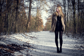 black dress,chiffon,dress