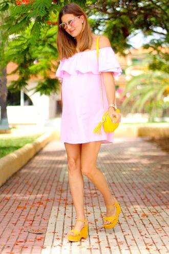 marilyn's closet blog blogger dress sunglasses shoes bag jewels