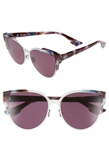 Dior 'Wildly Dior' 60mm Butterfly Sunglasses | Nordstrom