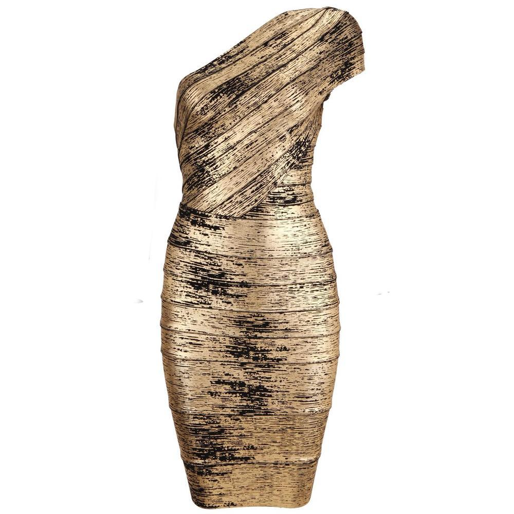 """d'ana"" gold black distressed bandage bodycon midi pencil dress — girl crush boutique"