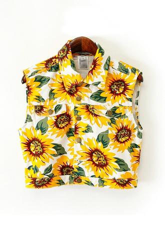 blouse top shirt vest crop
