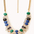 Gemstone Bib Necklace | FOREVER21 - 1000051659
