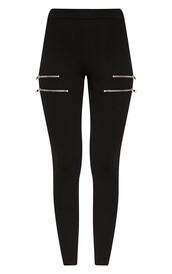 leggings,zipped leggings,bottoms,fashion,pants,jeans,zip,zipped pants,stussy jumper gold help findit