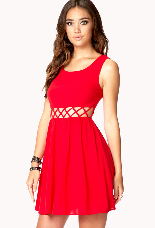 dress little red dress