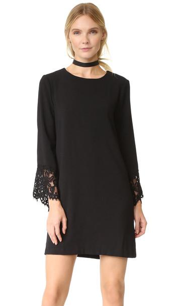 Wayf Sutton Shift Dress - Black