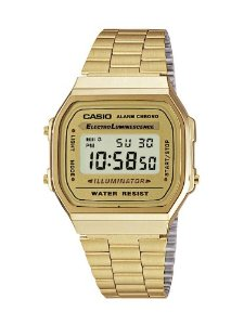 Casio Collection A168WG-9EF- Orologio unisex: Casio: Amazon.it: Orologi