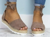 shoes,sandals,wrap around ankle
