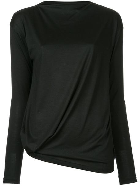 08Sircus top knitted top women black wool