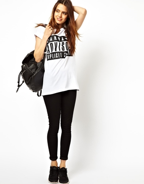 ASOS | ASOS T-Shirt with Parental Advisory at ASOS
