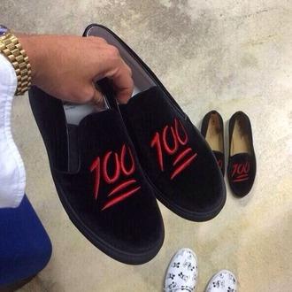 emoji print 100 slippers soft ghetto