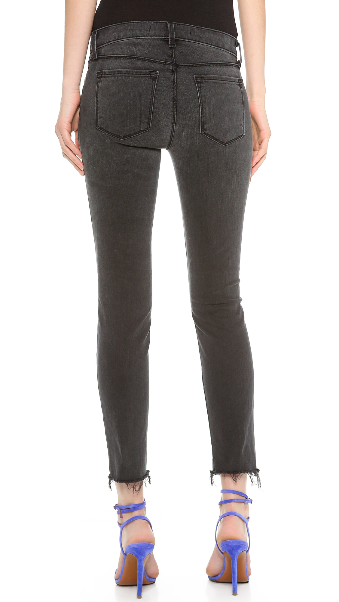 J Brand Photo Ready Cropped Mid Rise Skinny Jeans | SHOPBOP
