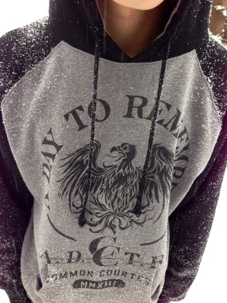 sweater a day to remember band band merch merch hoody jumper hoodie grey black