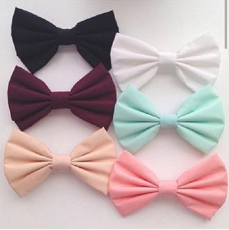 hair accessories bows
