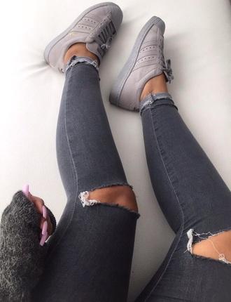 shoes grey adidas