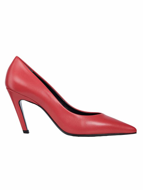 classic pumps red shoes