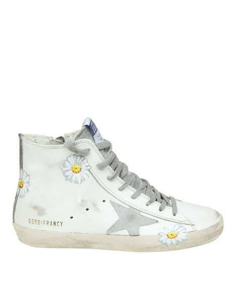 Golden goose sneakers. sneakers leather white shoes