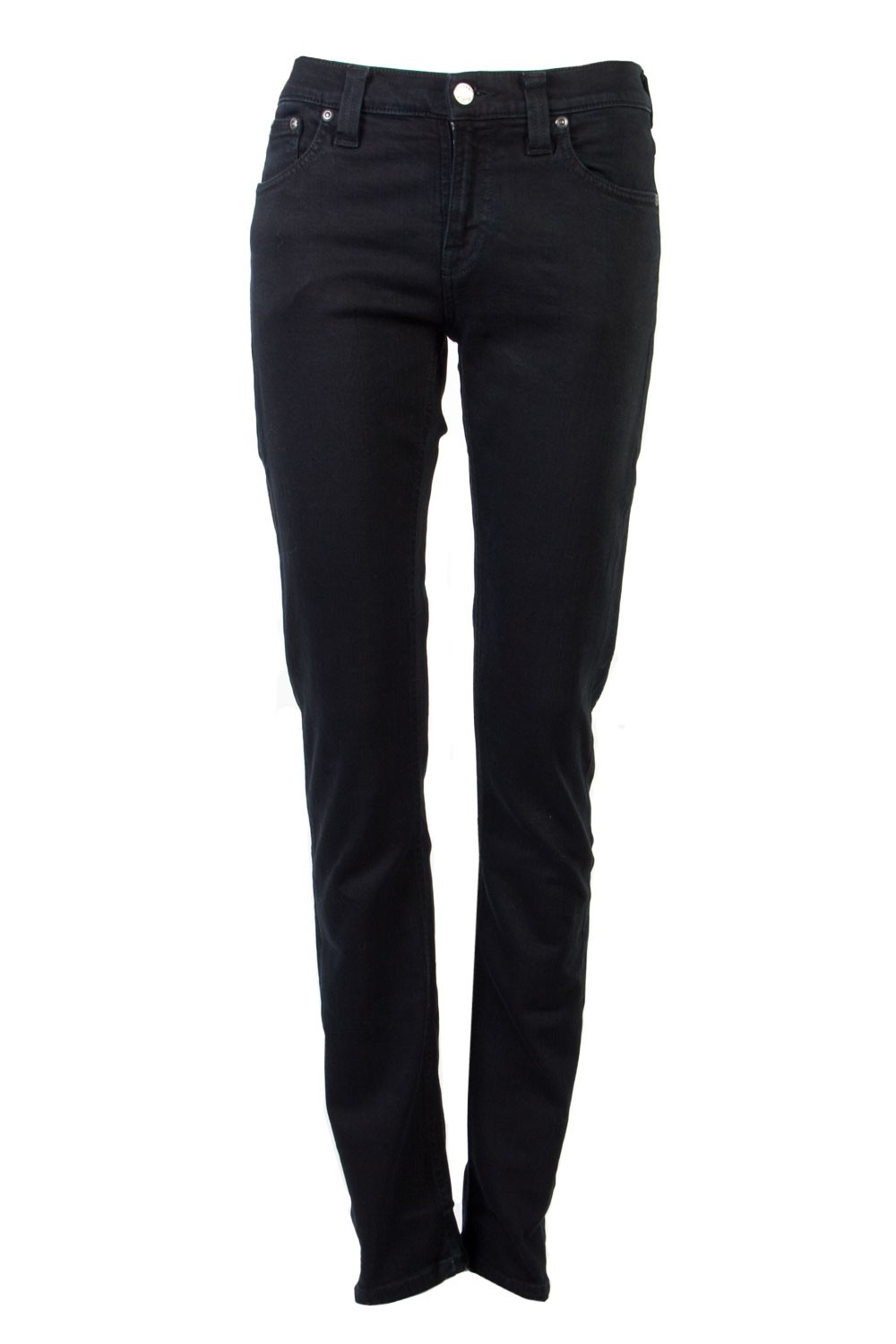 Nudie Jeans Co / Tube Kelly Black Black Jeans  / Outlet,Outlet - 03 March 2013,Jeans  - Superette | Your Fashion Destination.