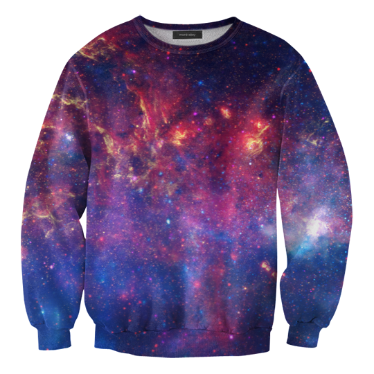 Purple nebula sweater / Mr. Gugu & Miss Go