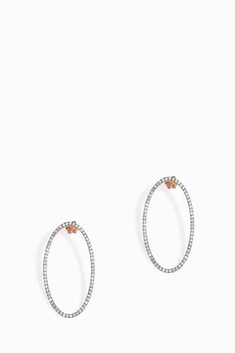 women earrings black jewels