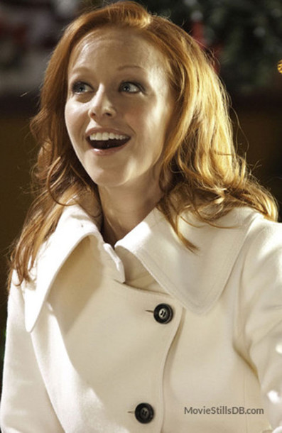 coat lindy booth christmas magic celebrity pea coat pea coat wheretoget - Christmas Magic Movie
