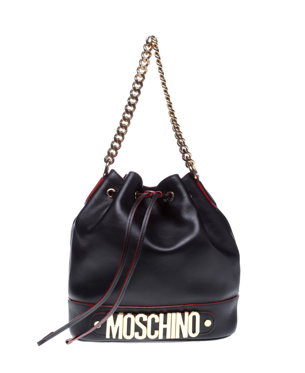 Moschino chain shoulder bag Free Shipping Visit Outlet Locations Cheap Price Sale Pick A Best An5OjliJmr