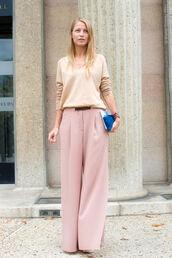 pink pants,large pants,pants,bag