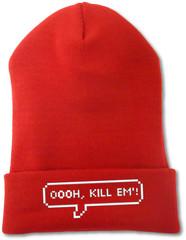 oooh kill em'! beanie - Fresh-tops.com