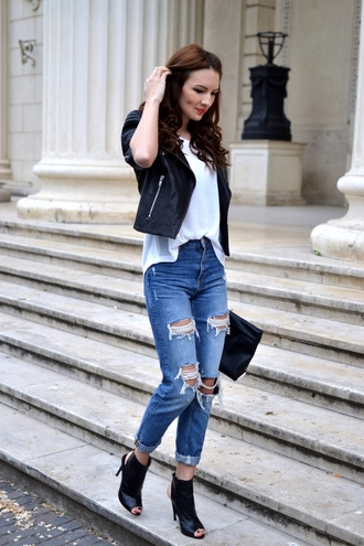 my silk fairytale jacket t-shirt jeans bag jewels