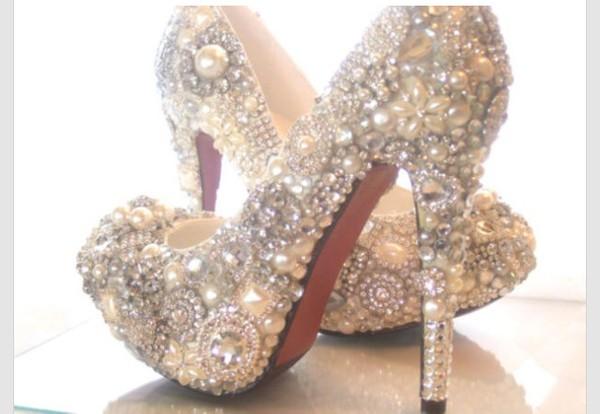 high heels sparkle glitter fancy