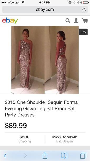 dress 2015 sequin formal dress