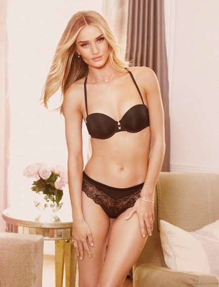 rosie huntington-whiteley underwear bra