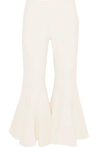 Antonio Berardi pants cropped white off-white