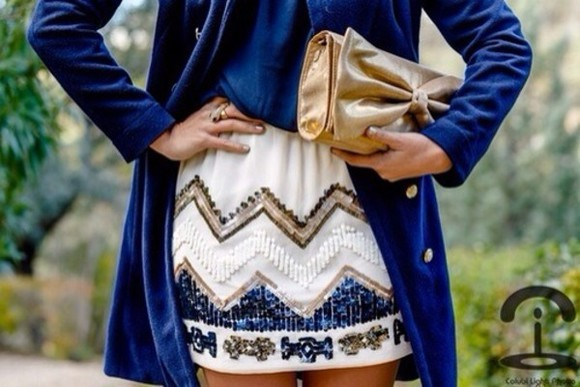 sequin cute skirt summer spring coat