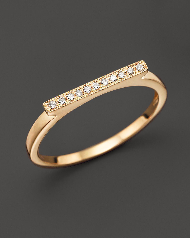Dana Rebecca Designs Diamond Sylvie Rose Ring in 14K Yellow Gold | Bloomingdale's