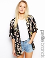 Girls On Film Petite Printed Kimono at asos.com