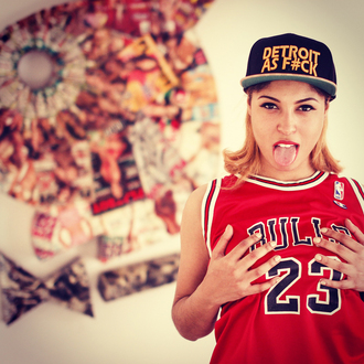 detroit top swag dope vintage 90s style streetwear streetstyle chicago bulls michael jordan urban cap jersey sexy tank top muscle tee playboy hat