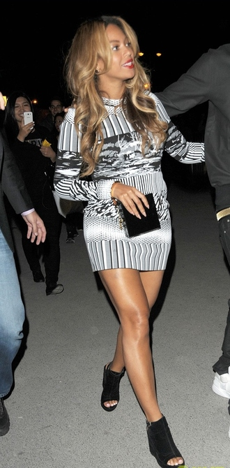 dress short dress beyonce wedges