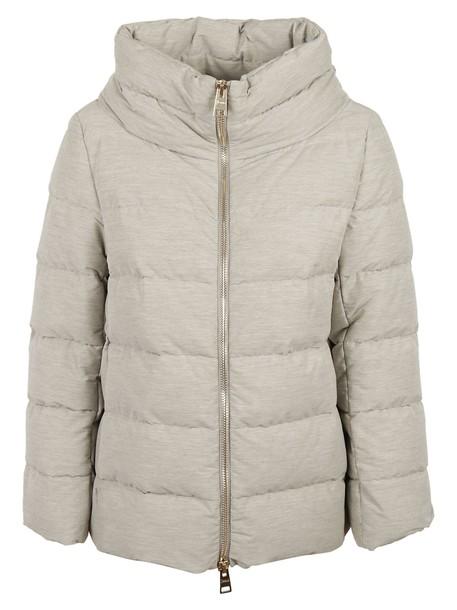 Herno jacket zip grey