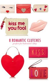 bklyn bride,blogger,bag,heart,clutch,lips,valentines day gift idea,valentines day,love quotes,lip print