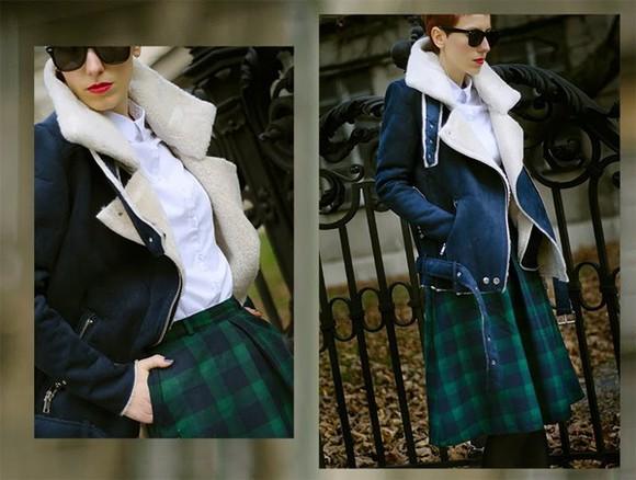 coat beeswonderland blue sheinside aliexpress lapel coat Red woolen coat overcoat outerwear fleece jackets fleece suede buckles free shipping trending