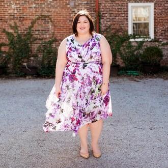 dress plus size bridesmaid dress curvy plus size plus size dress floral floral dress flats sleeveless sleeveless dress bridesmaid