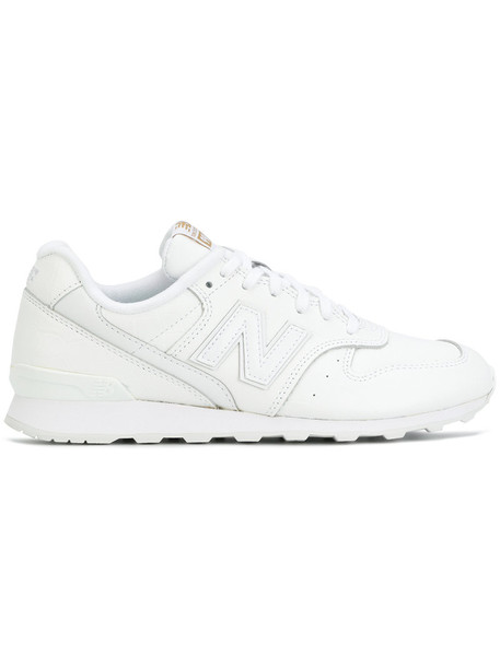 New Balance women sneakers leather white shoes