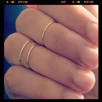 jewels middle ring slim stacking rings stackable rings knuckle ring the little finger ring rings for women womens rings the middle