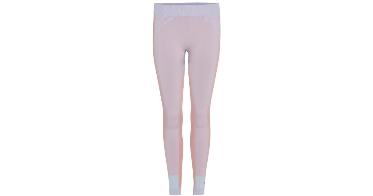 7293170365 Adidas By Stella McCartney | Pink Tight Leggings | Lyst