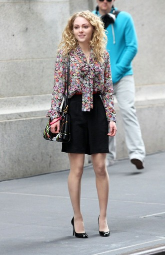 blouse the carrie diaries carrie bradshaw vintage new york