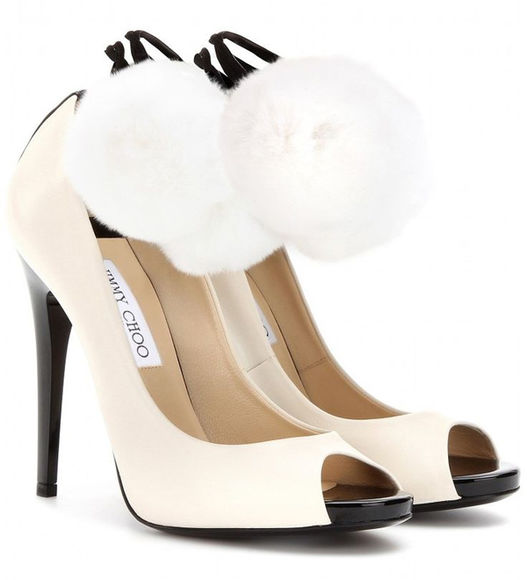 shoes pumps white jimmy choo white high heels open toe open toes open toed open toe shoes open toe heels