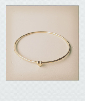 jewels heart bracelets minimalist jewelery